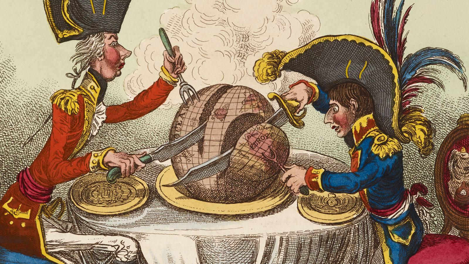 Caricatura Napoleone