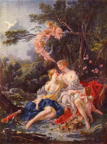 Diana e Callisto Boucher