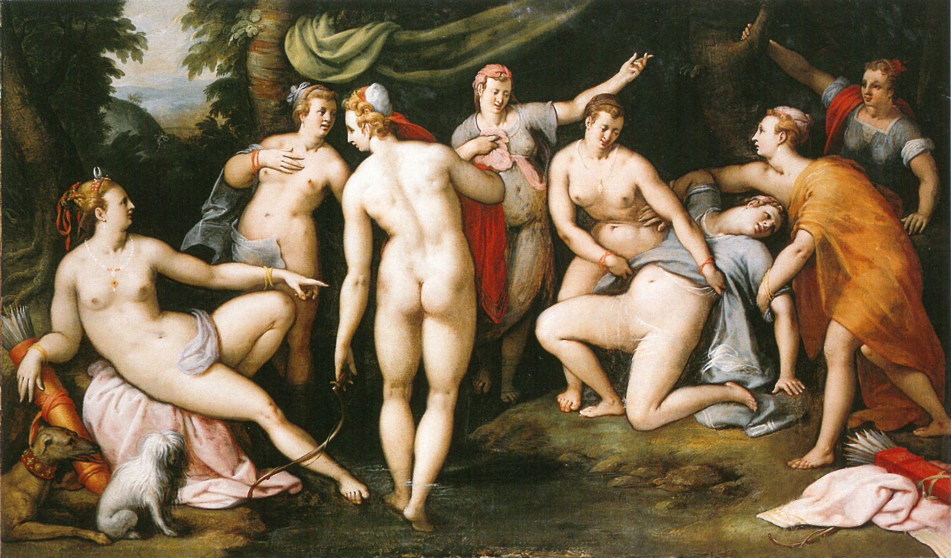 Diana e Callisto Congnet