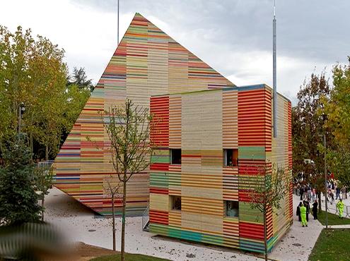 """Renzo Piano, L'Aquila, """"Auditorium del Castello"""" ( 2009-2012; Fonte: Web)"""