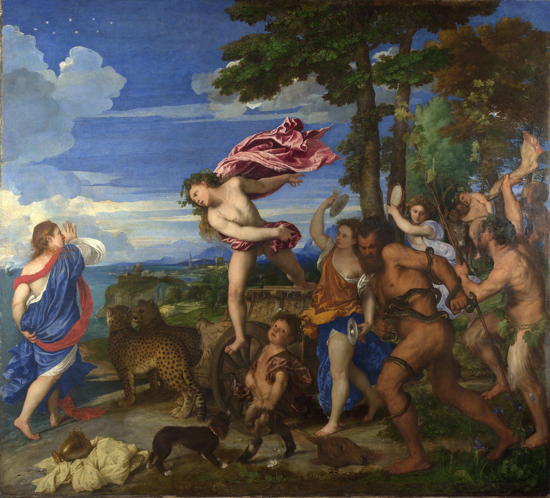 Tiziano Bacco e Arianna