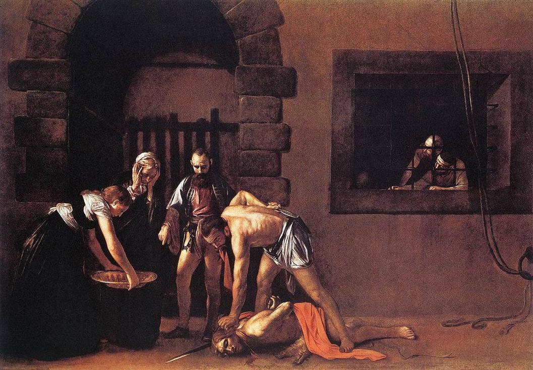 Decollazione San Giovanni Battista Caravaggio