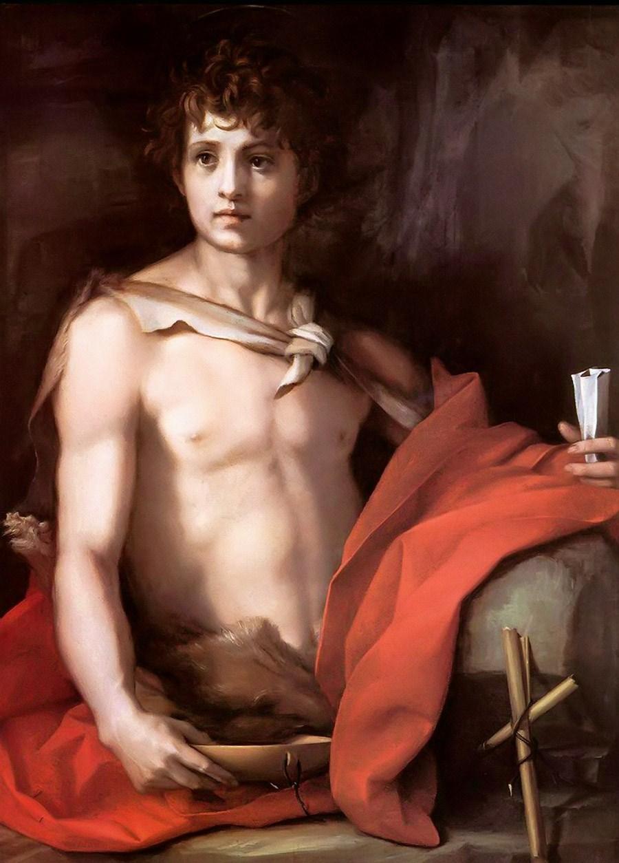DelSarto, St John Baptist 1528.jpg