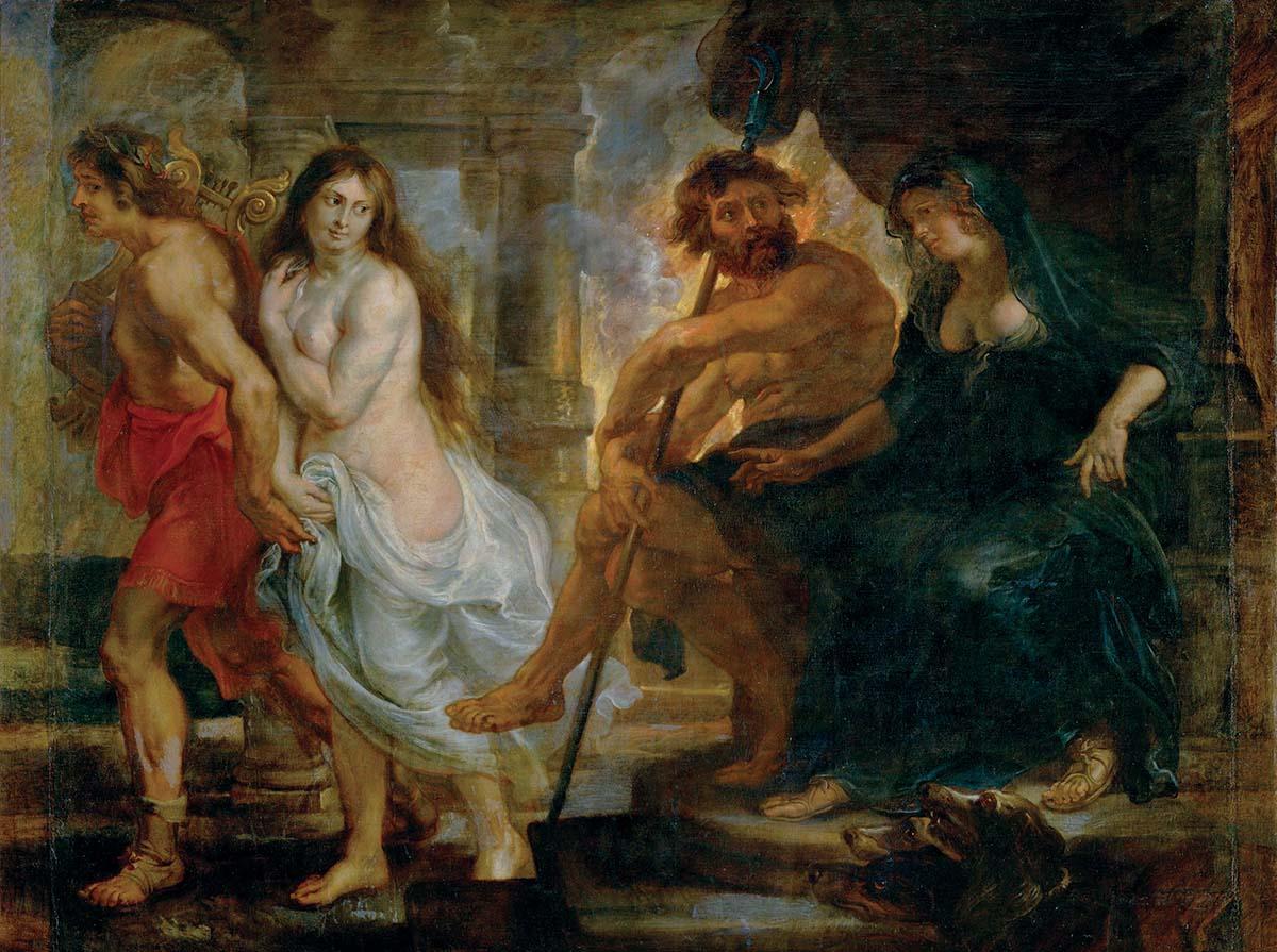 P.P.Rubens / Orpheus and Eurydike