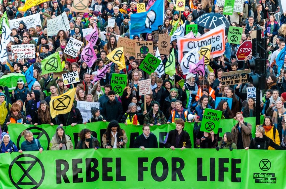 extinction rebellion rebel for life linkedIn